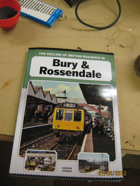 ELR General Manager Andy Coward's Book 