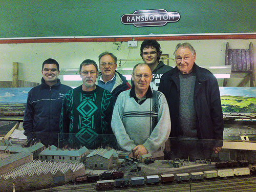 Ramsbottom Mode Railway Club Members