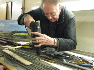 Keith Cutting out for a point motor